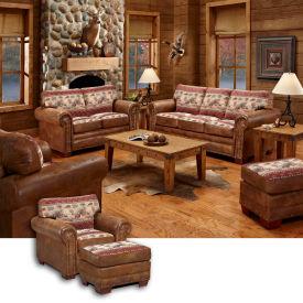 American Furniture Clics Sierra Lodge Set Includes Sofa Loveseat Chair Ottoman