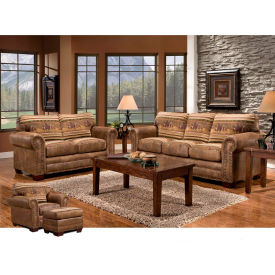 American Furniture Classics Wild Horses Set, Includes Sofa, Loveseat, Chair & Ottoman by