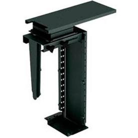 CPU Desk Mounting Bracket - Black
