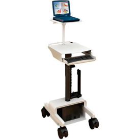 Dual PC Cart™ w/CPU Holder & Wire Manager
