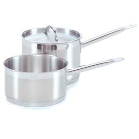 Alegacy 21SSSP10 - 21CT Stainless Steel Sauce Pan w/ Cover & Helper Handle 10 Qt.