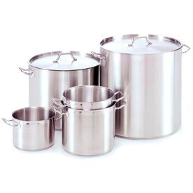 Alegacy 21CT Stainless Steel Stock Pot w/ Cover 40 Qt. - 21SSSP40