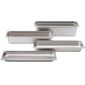 Alegacy 22244L 6.34 Qt. Half Long Steam Table Pan Package Count 6 by
