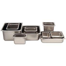 Alegacy 55146 - 4.5 Qt. 1/4 Size Steam Table Pan Anti-Jam, 25 Ga. - Pkg Qty 12