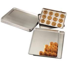"Alegacy 61826-51 - Full Size Bun Pan, 26""W x 18""D x 1""H, 16 Ga. Aluminum - Pkg Qty 12"