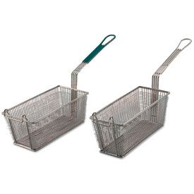 Alegacy 79201 - Wire Rectangular Fry Basket w/ Uncoated Handle, 13 x 5-3/8 - Pkg Qty 12
