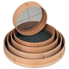 """Alegacy 9812 - 12"""" Dia. Wood Rim Sieves"""
