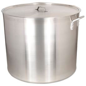 Alegacy AP140WC - 140 Qt. Heavy Duty Aluminum Stock Pot w/ Cover