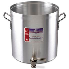 Alegacy EW80FWC - 80 Qt. Stock Pot w/ Faucet and Cover