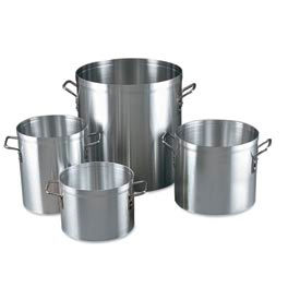 80 Qt. Aluminum Stock Pot with Cover