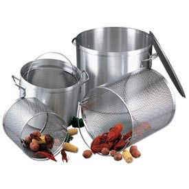 Alegacy EWAB24 - 24 Qt. Stock Pot w/ Lid and Aluminum Basket