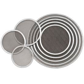 "Alegacy SPS10 - 10"" Aluminum Pizza Screen Seamless Rim - Pkg Qty 12"