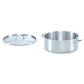 Alegacy SSBR20 - 18/8 Stainless Steel Brazier w/ Cover 20 Qt.