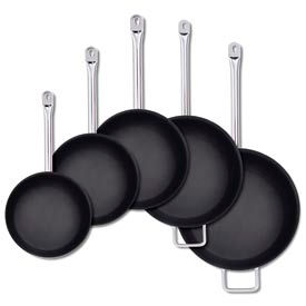 """Alegacy SSFPC8 - 18/8 Stainless Steel Fry Pan PTFE Xtra 8"""""""
