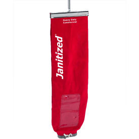 Euroclean Cotton Upright Cloth Vacuum Bag With Lock - Pro12 E888 and Nilfisk ReliaVac 12HP & 16HP