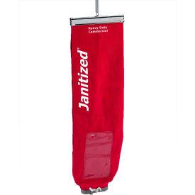 Nilfisk-Advance Cotton/SMS Upright Cloth Vac Bag W/Lock - Euroclean Pro12 E888 & ReliaVac 12/16HP