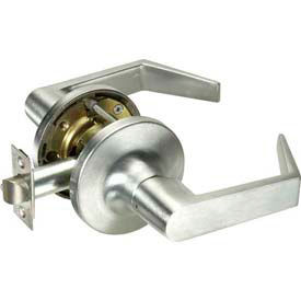 Yale® Cylindrical Lockset Storeroom, Grade 2, AU Handle, C Keyway