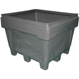 """Snyder Armor Bin 1036 - 2000 Lbs. Capacity 48""""L x 44""""W x 36""""H, Molded Base, Natural"""