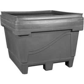 """Snyder Armor Bin 2036 - 2000 Lbs. Capacity 48""""L x 44""""W x 36""""H, Molded Base, Natural"""