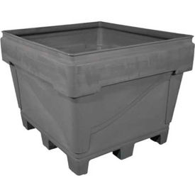 """Snyder Armor Bin 3036 - 2000 Lbs. Capacity 48""""L x 44""""W x 36""""H Replaceable Pallet Base Natural"""