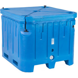 "Bonar Polar Insulated Box PB1545 - 1500 Lbs. Capacity 48""L x 43""W x 36""H, Blue"