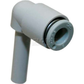 Smc® Plug-In Elbow Kq2l08-99-X12, Kq2 Series, 8mm O.D. - Pkg Qty 10