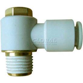 Smc® Male Universal Elbow Kq2v16-04as-X12, Kq2 Series, 16mm O.D. - Pkg Qty 10