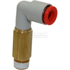 """Smc® Extended Male Elbow Kq2w01-34a, Kq2 Series, 1/8"""" O.D. - Pkg Qty 10"""