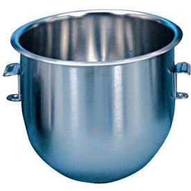 Alfa 10VBWL Mixer Bowl For Hobart 10 Qt. Mixer C100, Stainless Steel, 10 Qt. Mixer by