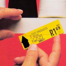 "Label Holder, 2"" x 48"", Clear Strip (6 pcs/pkg)"