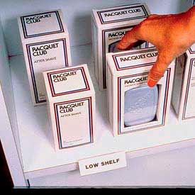 "Label Holder, Hi-Lo, 3/4"" x 2"", Clear, Self Adheres (10 pcs/pkg)"