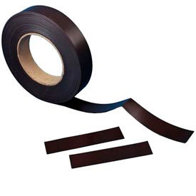 """Plain Magnetic Roll Stock, 1"""" x 50 ft, Scored 1"""" x 3"""""""