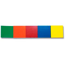 """Colored Write-On Magnetic Roll, 1"""" x 50 ft Roll, Yellow"""