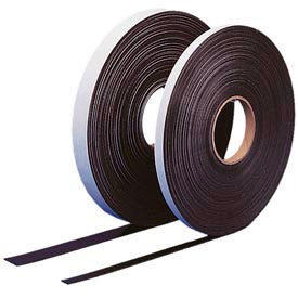 """Self Adhesive Magnetic Strip, 100 ft x 1"""" H Roll"""