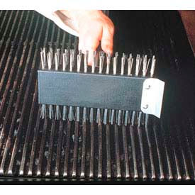 """American Metalcraft 1423 Broiler Brush, 30"""" Handle W/Metal Threaded Tip by"""