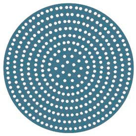 """American Metalcraft 18916SP - Pizza Disk, 16"""", Super Perforated, 456 Holes"""