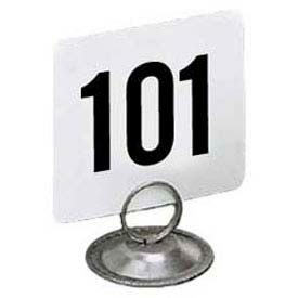 "American Metalcraft 4150 - Table Numbers, Numbers 101 Thru 150, 4"" Square"
