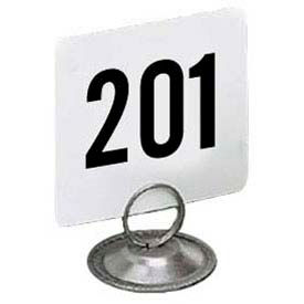 "American Metalcraft 4250 - Table Numbers, Numbers 201 Thru 250, 4"" Square"