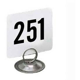 "American Metalcraft 4300 - Table Numbers, Numbers 251 Thru 300, 4"" Square"