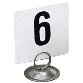 "American Metalcraft 450 - Table Numbers, Numbers 1 Thru 50, 4"" Square"