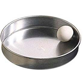 """American Metalcraft A80072 - Pizza Pan, Straight Sided, 7"""" Dia., 2"""" Deep, Solid, Aluminum"""