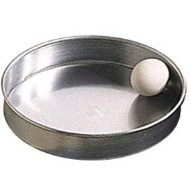 """American Metalcraft A80082 - Pizza Pan, Straight Sided, 8"""" Dia., 2"""" Deep, Solid, Aluminum"""