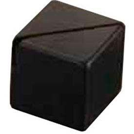 "American Metalcraft ACB118 - Card Holder, 1-1/8"", Square, Black"