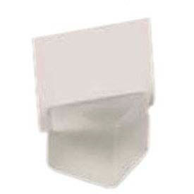 "American Metalcraft ACF125 - Card Holder, 1-1/8"", Square, Frosted White"