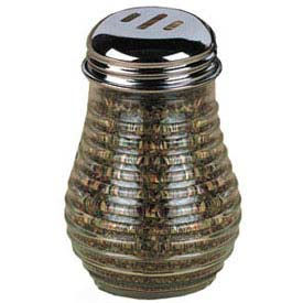 American Metalcraft BEE607 - Spice Shaker, 6 Oz., Glass, W/Stainless Top