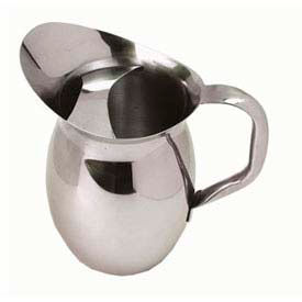 American Metalcraft BPG101 Bell Pitcher, 100 Oz., W/Ice Guard, W/High Polished Mirror... by