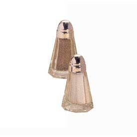 American Metalcraft BPNS115 - Salt & Pepper Shaker, 1-1/2 Oz., Paneled Glass