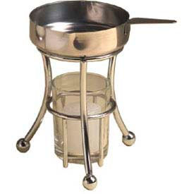 American Metalcraft BWPC35 - Butter Warmer, Includes Cup, Stand, Votive Holder & Candle