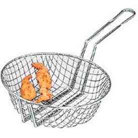 "American Metalcraft CBC12 - Culinary Basket, 12"" Dia., 3"" Deep, Coarse Mesh"