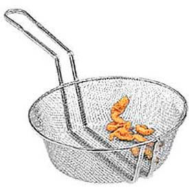 "American Metalcraft CBF12 - Culinary Basket, 12"" Dia., 3"" Deep, Fine Mesh"